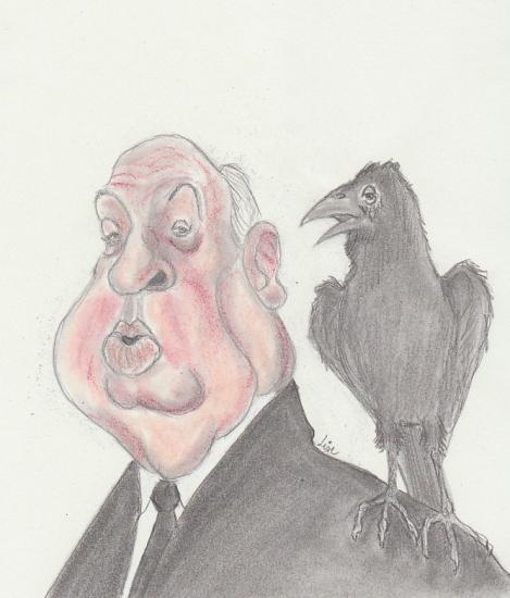 Alfred Hitchcock par lise1981